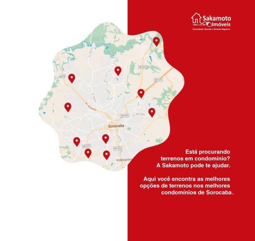 Terreno residencial à venda, Condomínio Horto Florestal I, Sorocaba - TE2593.