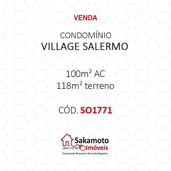 Casa 3 Dorm, Condomínio Village Salermo, Sorocaba (SO1771) - Foto 18
