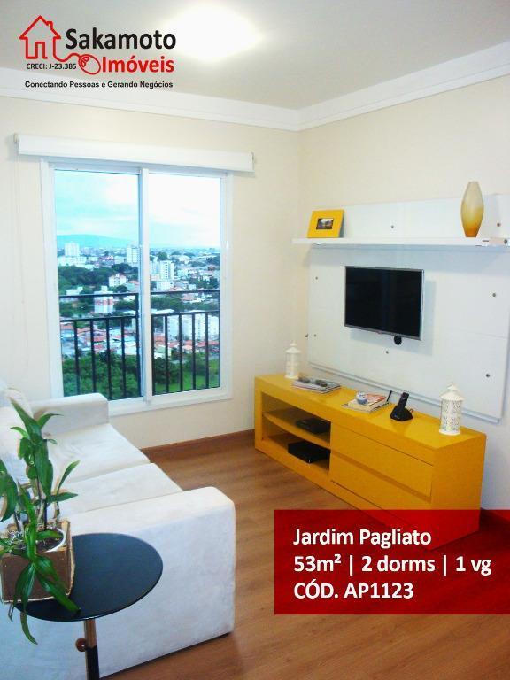 Apartamento residencial para locação, Jardim Pagliato, Sorocaba - AP1123.