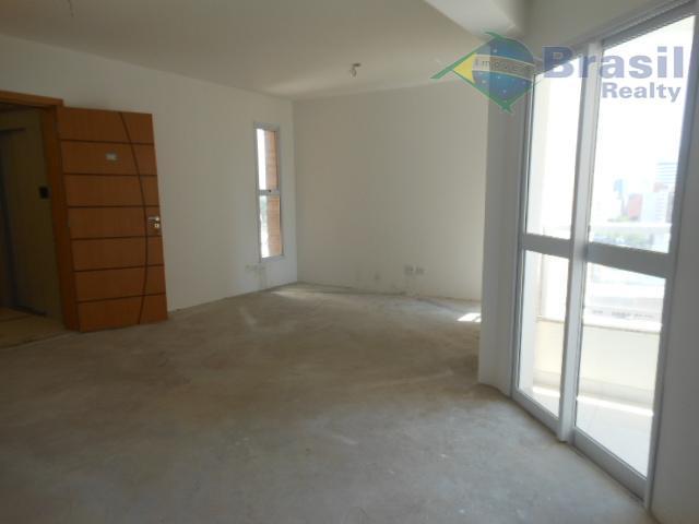 Apartamento NOVO, 119m², 3 suítes, 3 vagas, Vila Bastos, Santo André.