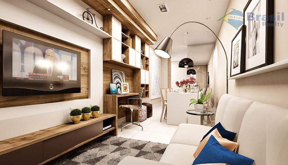 Apartamento residencial à venda, Parque das Nações, Santo André - AP1810.
