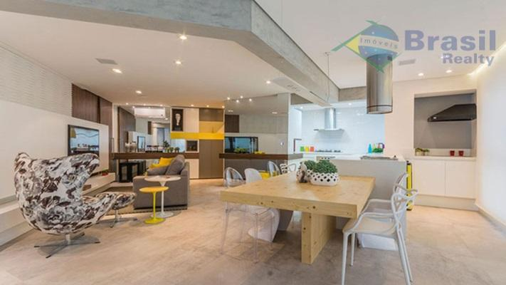 Apartamento 160m², 3 suítes, 3 vagas, Santo André.