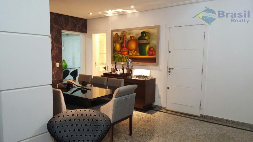 excelente apartamento - parque das nações - riquíssimo em planejados - 127m² - 2 vagas paralelas...