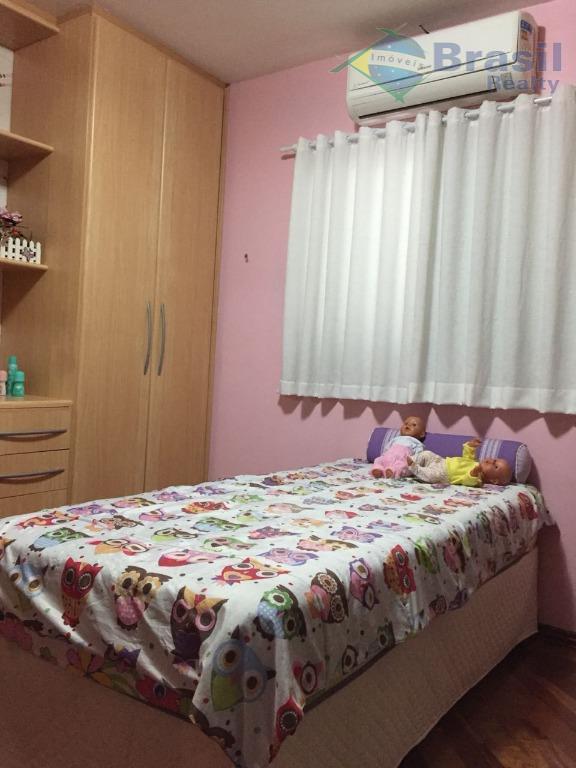 excelente sobrado - vila floresta - 183m² de área construída - 3 dormitórios com planejados e...