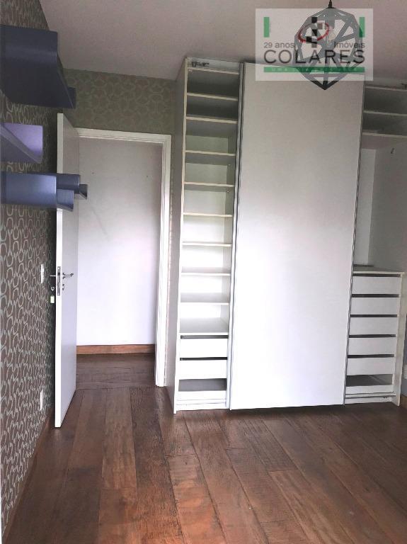 brooklin, apartamento de luxo em condomínio clube, quadra de tênis, com 162 m², 3 dormitórios bem...