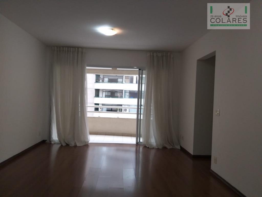 Apartamento com 4 dormitórios para alugar, 110 m² por R$ 5.500/mês - Moema - São Paulo/SP