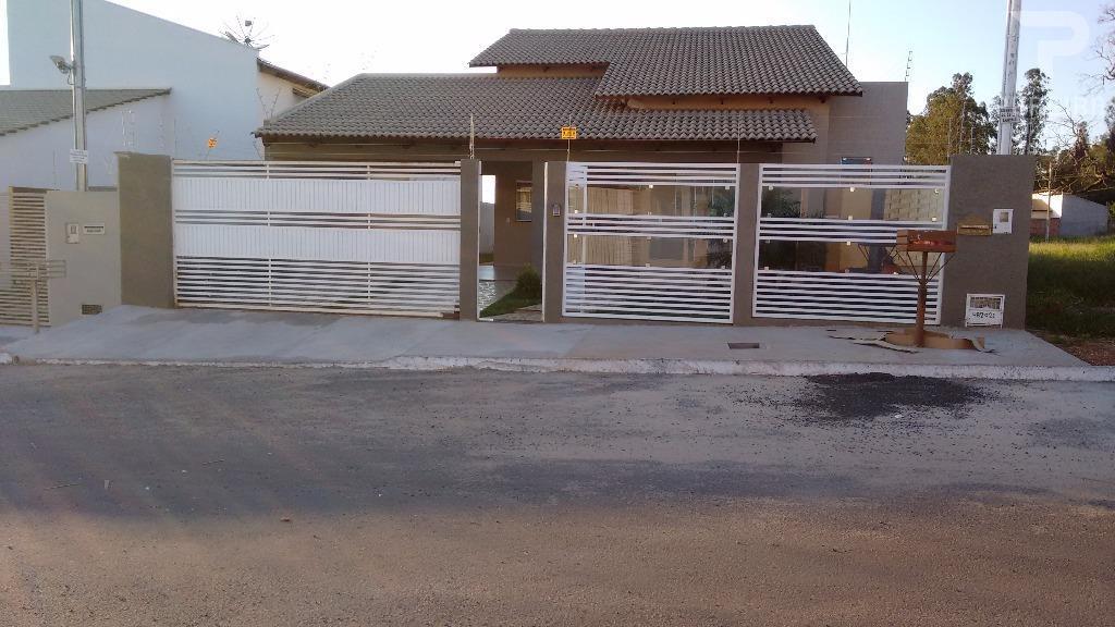 Casa residencial à venda, Martins II, Mineiros.