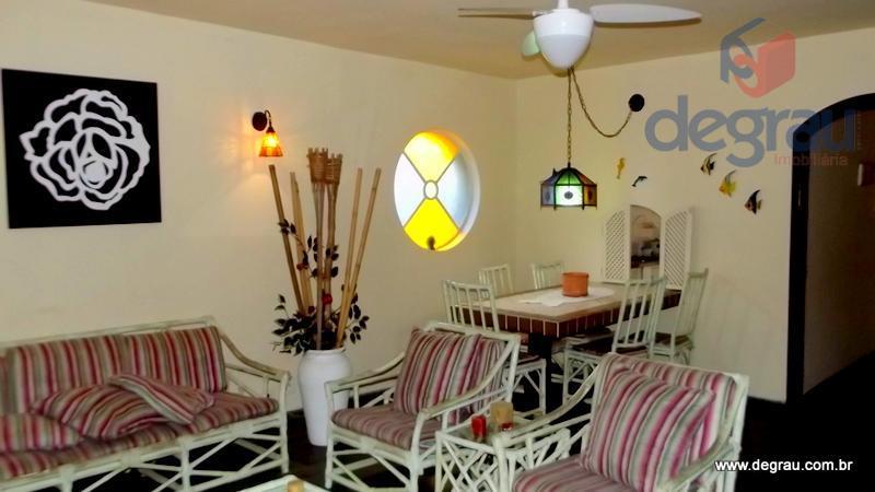 Casa residencial à venda, Praia da Enseada, Guarujá - CA0348.