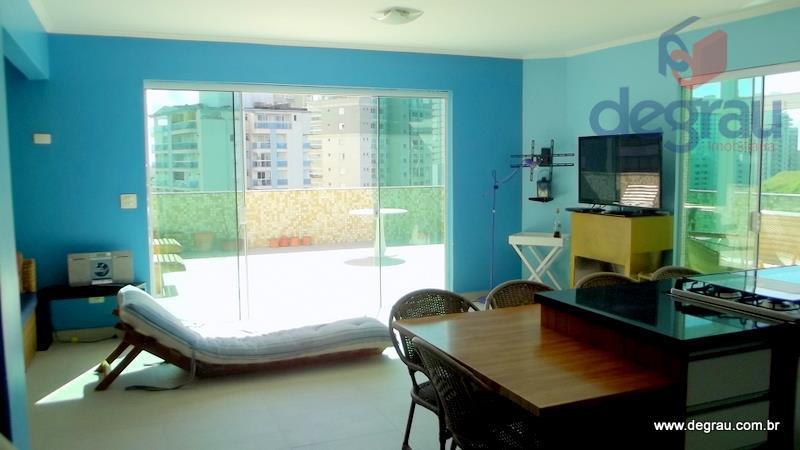 Cobertura residencial à venda, Praia do Tombo, Guarujá.