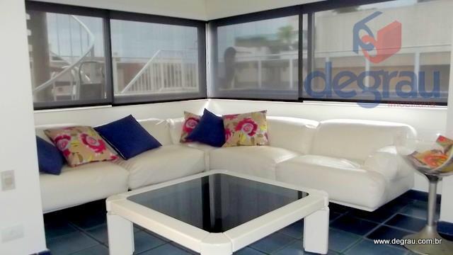 Apartamento 2 quadras da praia com Vista para o Mar.