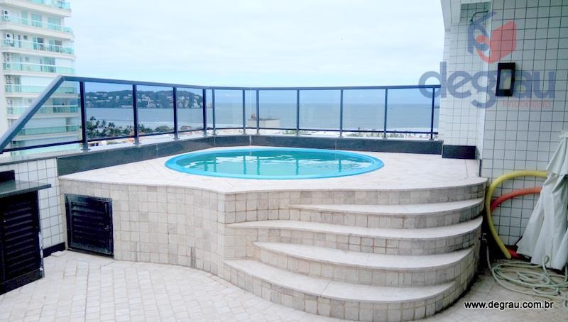 Cobertura residencial à venda, Praia da Enseada, Guarujá - CO0459.