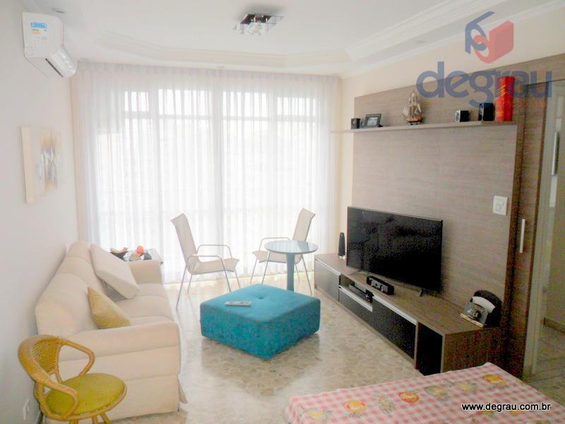 Apartamento residencial à venda, Praia das Pitangueiras, Guarujá - AP0489.