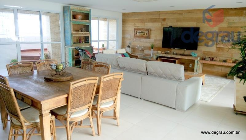 Cobertura residencial para locação, Praia da Enseada, Guarujá - CO0457.