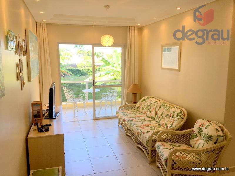 Excelente apartamento com 3 dormitórios, sala com sacada, lado praia, reformado, Região Brunella
