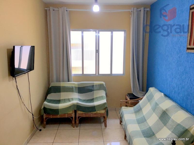 Apartamento 1 dormitório, 500 metros da praia na Região dos Hotéis.