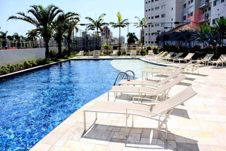 Lindo apartamento 3 dormitórios, vista para mar, prédio novo, lazer total, 300 metros da praia, Região do Aquário.