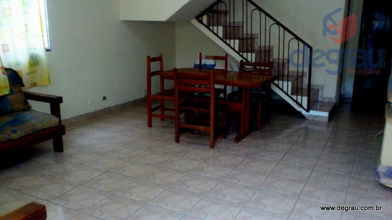 Casa residencial para locação, Jardim Três Marias, Guarujá.