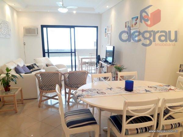 Apartamento residencial para venda e locação, Praia da Enseada, Guarujá - AP4384.
