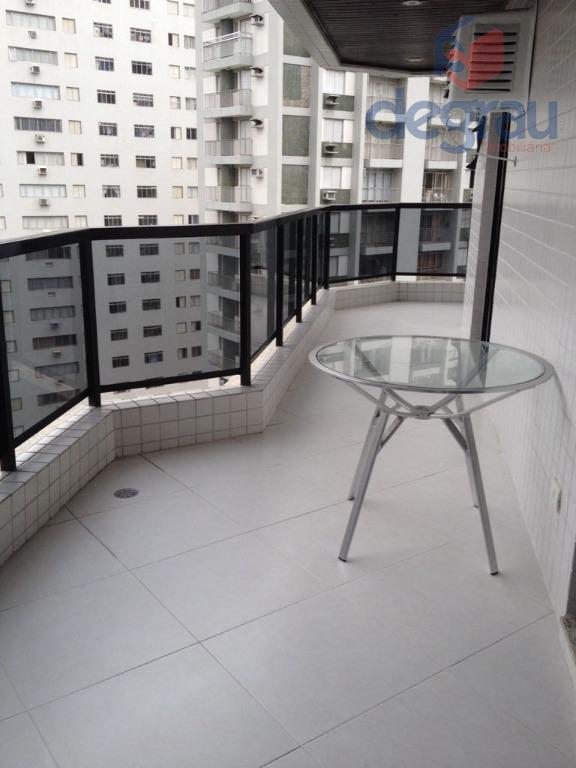 Apartamento residencial para locação, Praia das Pitangueiras, Guarujá - AP4866.