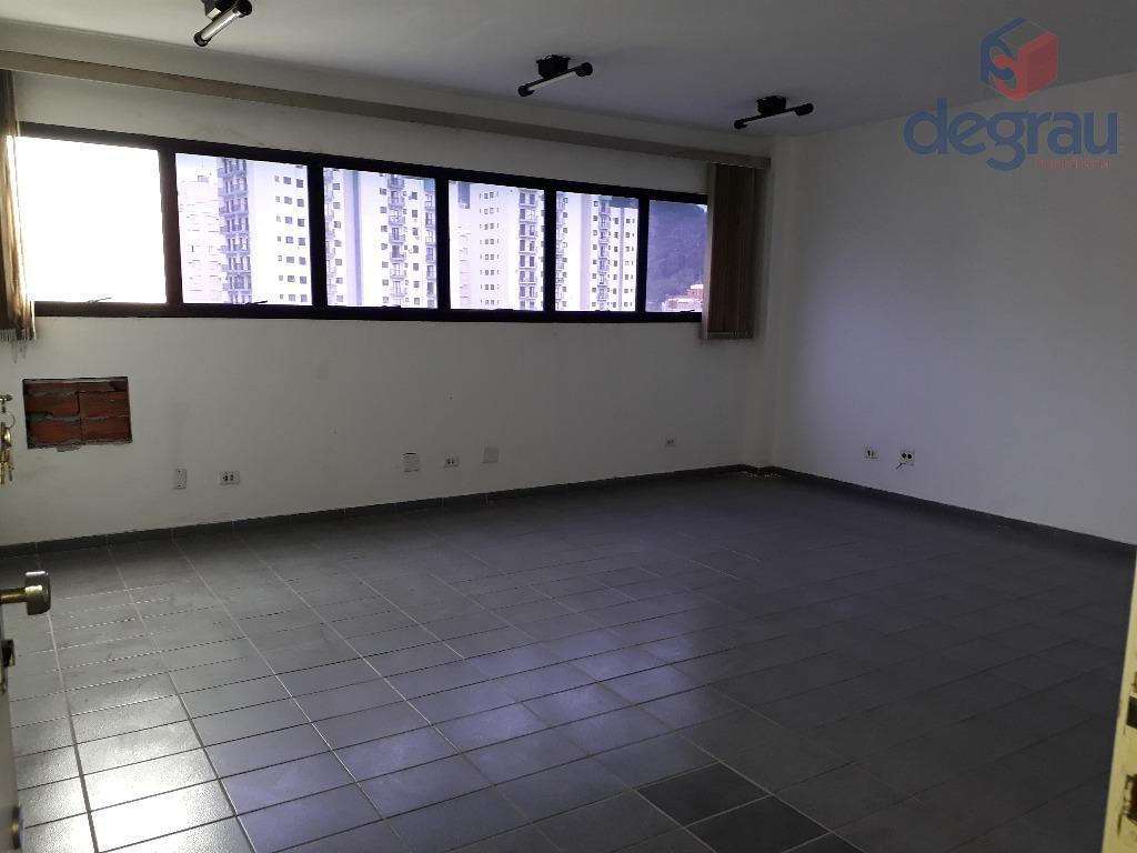 Sala comercial para locação, Jardim Três Marias, Guarujá.