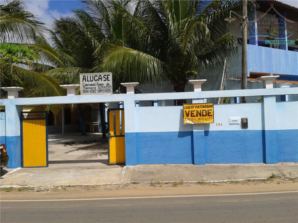 casa na av. principal de jacumã, próximo ao mar, posição nascente, ótimo para comércio.