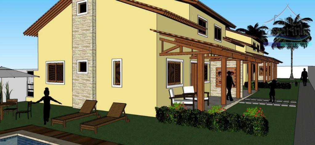 Condominio com 4 casas à venda em Carapibus