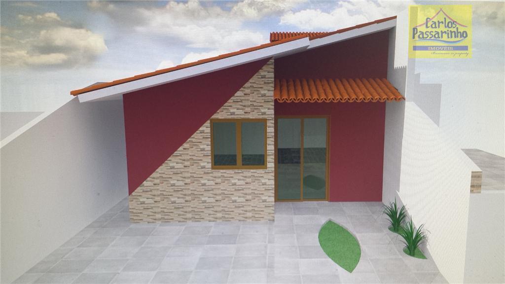 Casa á venda financiada na praia de Jacumã