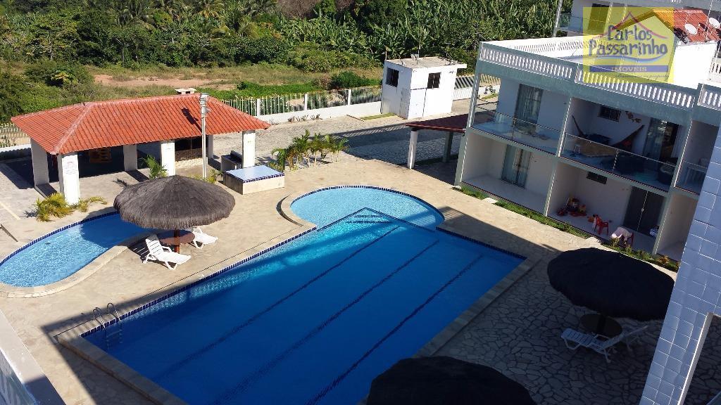 Apartamento residencial para locação, Praia do Amor, Conde.
