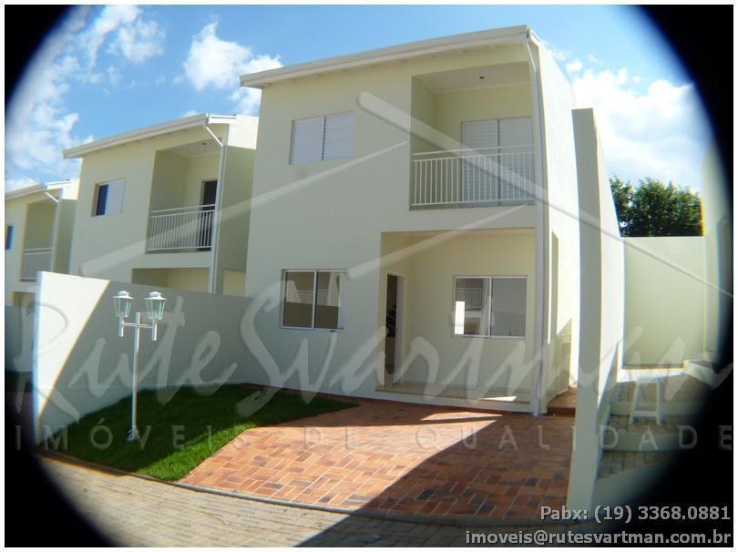 Sobrado residencial à venda, Condomínio Ipês, Campinas - CA2721.