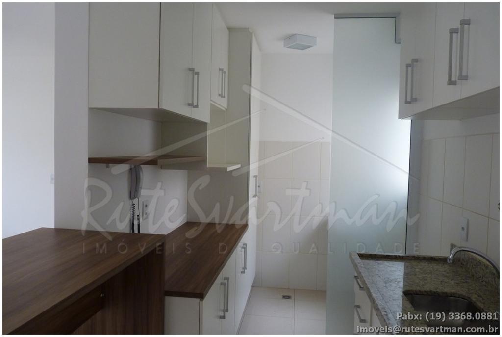 Apartamento residencial à venda, Jardim Santa Genebra, Campinas - AP0663.