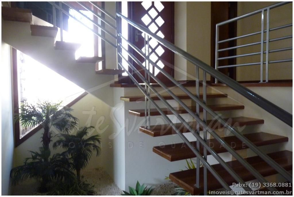 excelente sobrado em condomínio de alto padrão barão geraldo - vendaconstrução em desníveis com amplos espaços,...