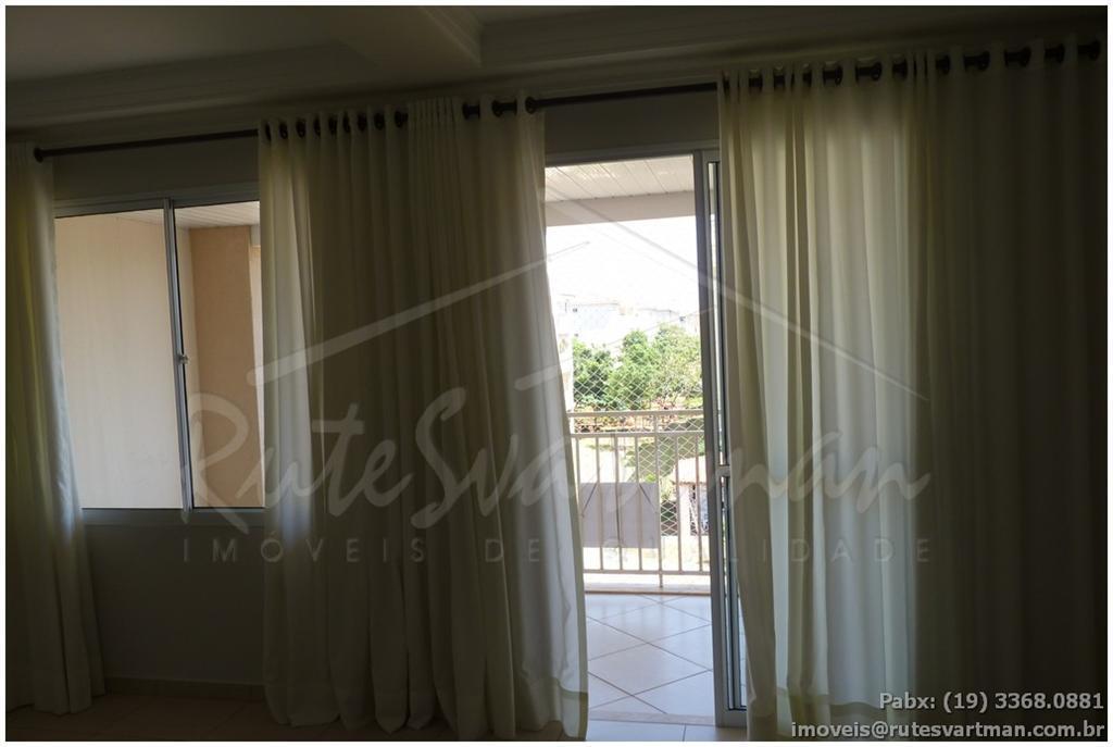 Apartamento residencial para locação, Jardim Santa Genebra, Campinas - AP0787.