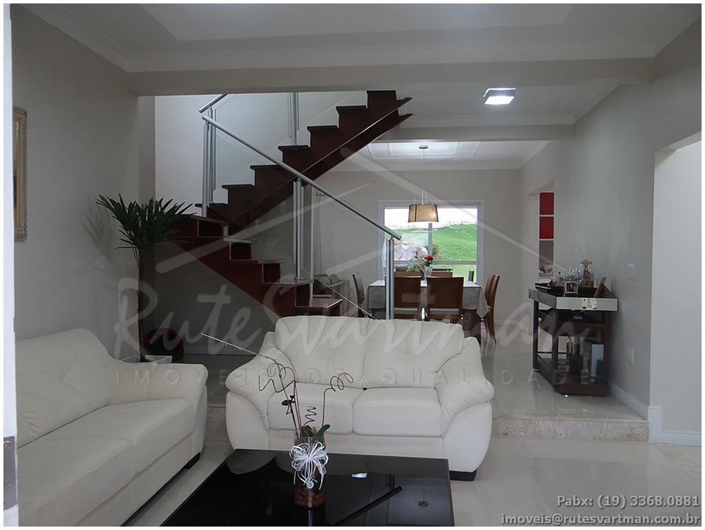 Sobrado residencial à venda, Condomínio Villaggio Fiorentino, Valinhos.