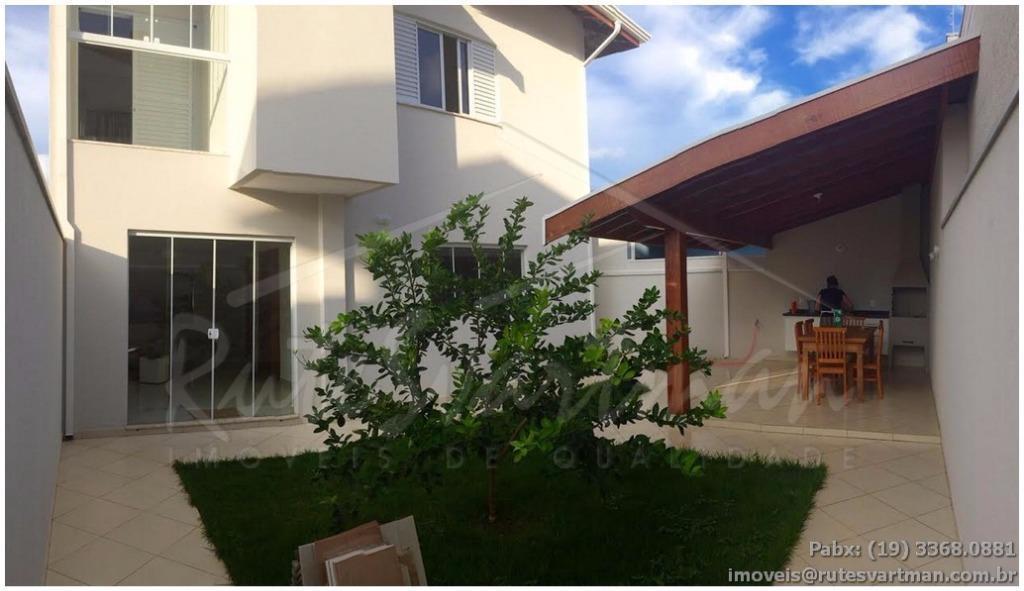 Sobrado residencial à venda, Residencial Terras do Barão, Campinas.