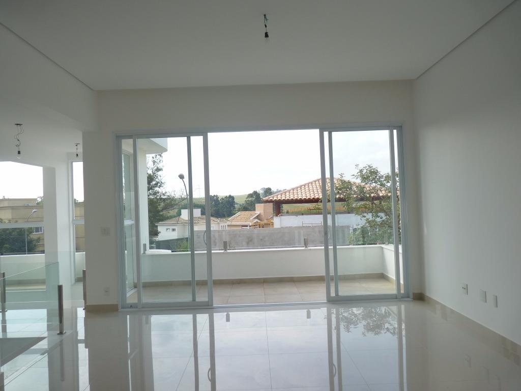 Sobrado residencial à venda, Alphaville Dom Pedro, Campinas.