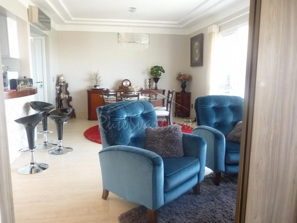 Apartamento residencial à venda, Parque Rural Fazenda Santa Cândida, Campinas - AP0718.