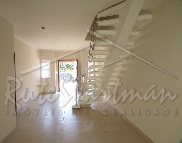 lindo sobrado - condomínio vila angelica no santa genebra - 3 dormitórios ( 1 suite ).distribuição...