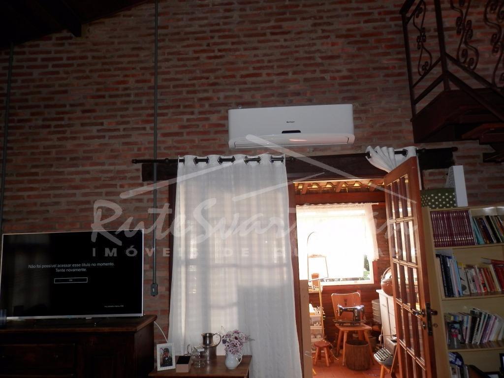 casa térrea - village campinas (região de barão geraldo)casa térrea estilo rústico com 2 dormitórios, wc...