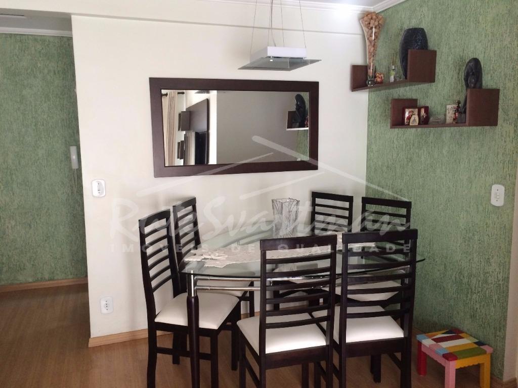 Apartamento residencial à venda, Vila Industrial, Campinas - AP1002.