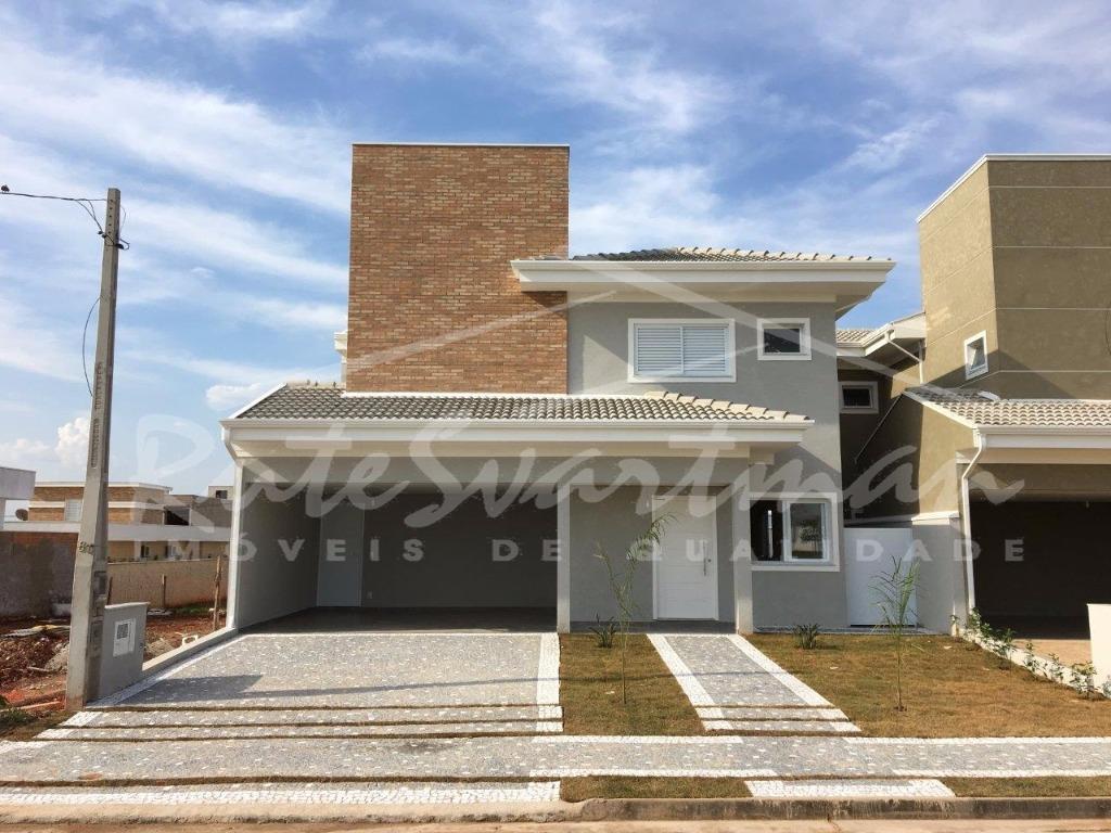 Casa residencial à venda, Condomínio Reserva Real, Paulínia - CA3060.