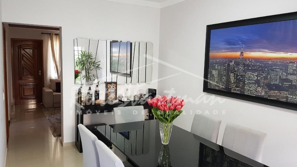 Sobrado residencial à venda, Residencial Terras do Barão, Campinas - CA1479.
