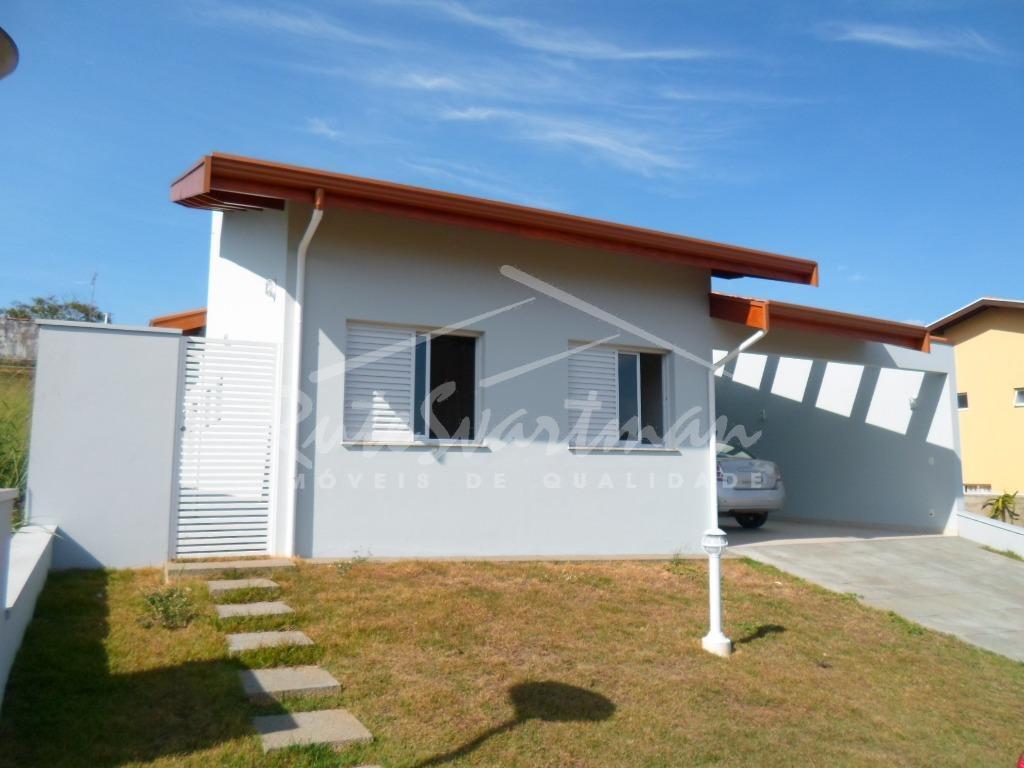 Casa residencial para locação, Condomínio Recanto do Guará, Campinas.