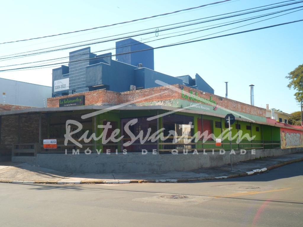 amplo salão comercial - ótima localização - área externa coberta com vista para avenida, espaço de...