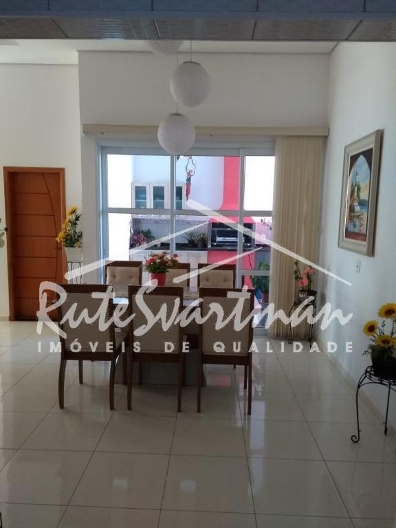 Casa com 3 dormitórios à venda, 166 m² por R$ 570.000 - Condomínio Campos do Conde - Paulínia/SP