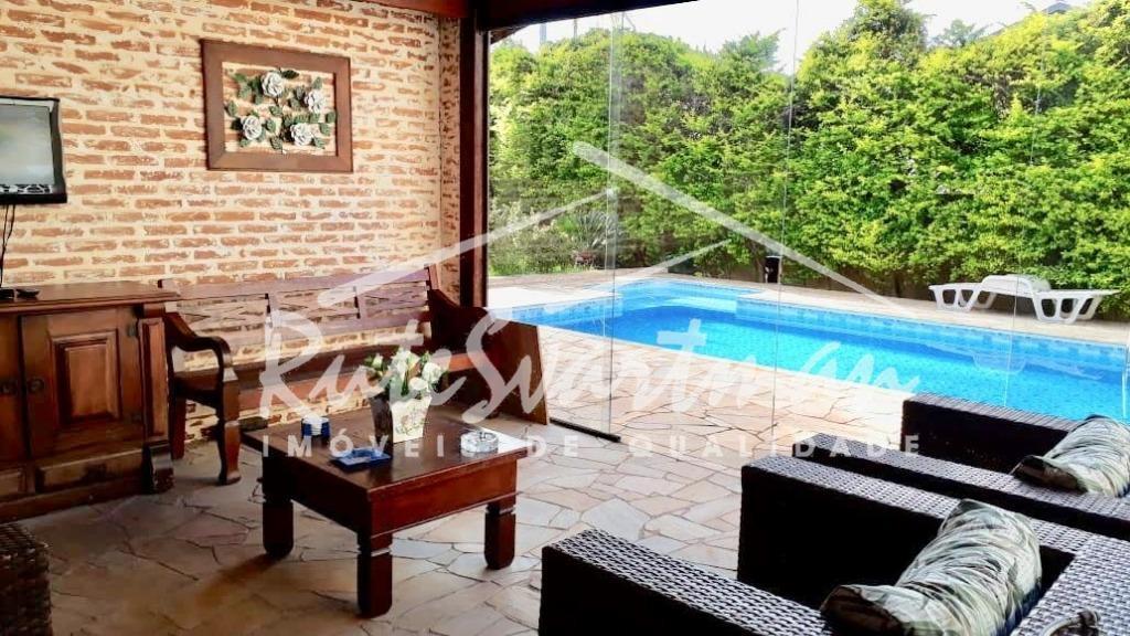 Casa com 3 dormitórios à venda com piscina, 220 m² por R$ 750.000 - Parque das Universidades - Campinas/SP