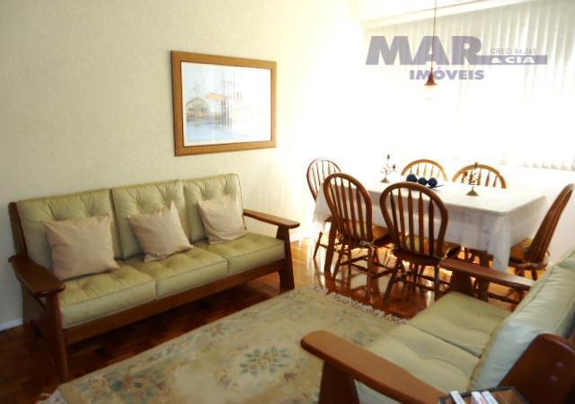 Apartamento residencial à venda, Praia das Astúrias, Reformado,Quadra mar.