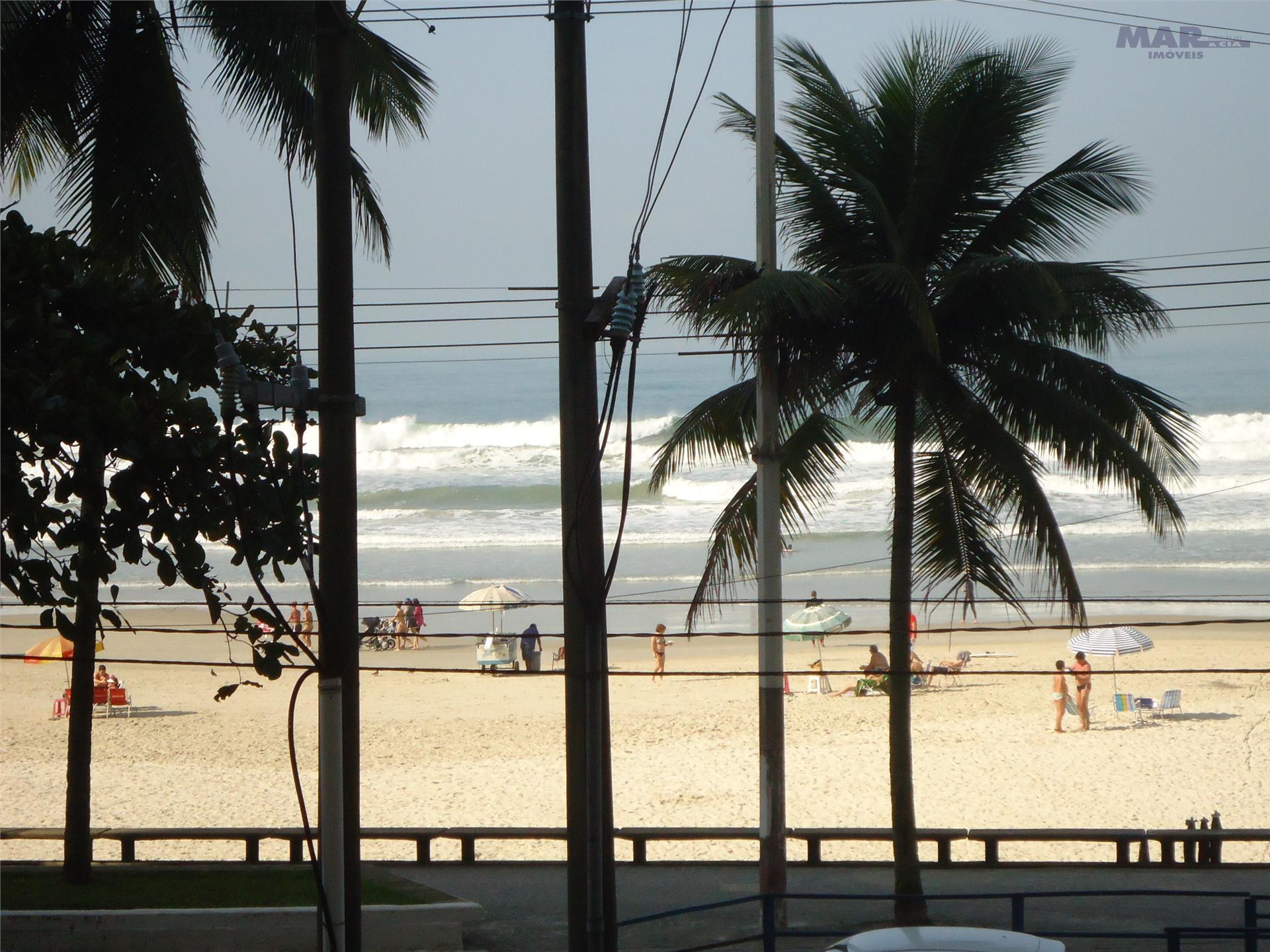 Guarujá Pitangueiras - Frente ao Mar - 100 mts úteis -  3 Suítes 1 Vaga no prédio - Vista Mar -