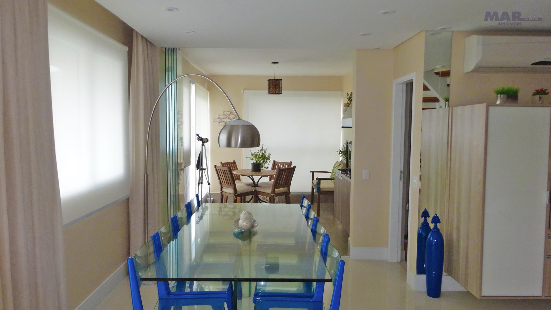 Guarujá Astúrias - Frente Total p/ o Mar - Apartamento Duplex - Finamente Decorado !!!