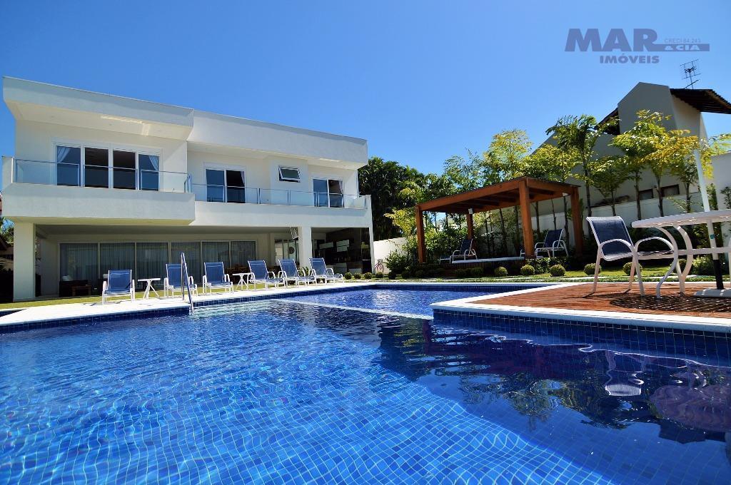 Guarujá Jardim Acapulco - Decorada - Nova - 06 suites- 850 area construida