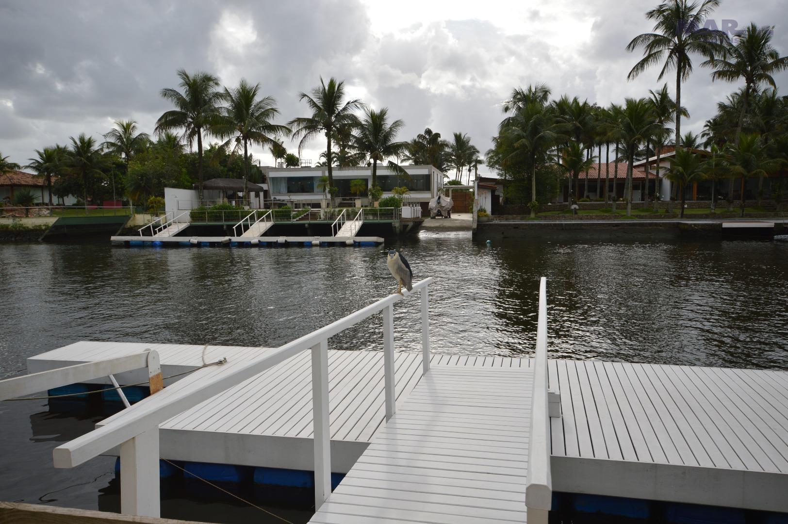 Casa residencial à venda, Marina Guarujá - 5 Suítes - Pier p/ Emb de até 80 pés !!!